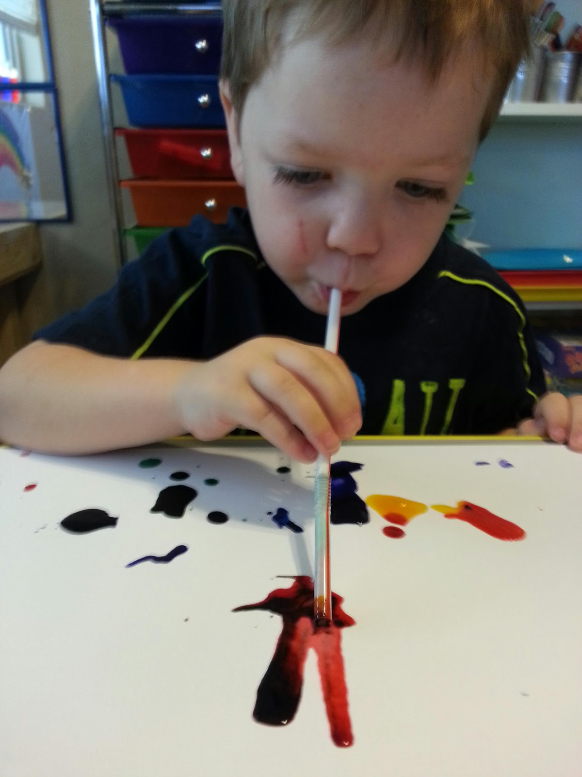Sweetie Pie Preschool Kid Made Wind Art