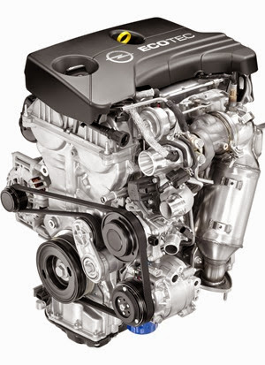 Ecotec 1.0L I-3 VVT DI Turbo (LE1)
