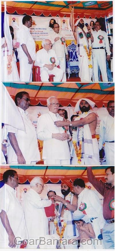 Sevagad temple foundar sri Ranjit Naik, Sevagad