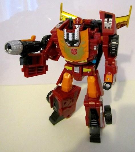 Hot Rod robot mode