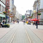 Looking down Wolności Street towars Złoty Róg (Golden Corner).