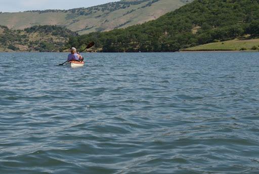 southern end of Emigrant Lake near Ashland Oregon