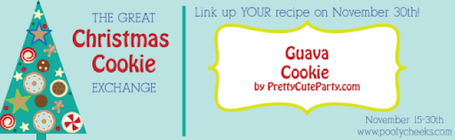 Guava Cookies by Pretty Cute Party