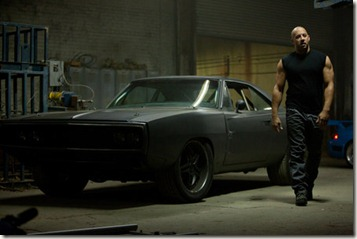 "VIN DIESEL as Dom Toretto in a reunion of returning all-stars from every chapter of the explosive franchise built on speed--""Fast Five""."