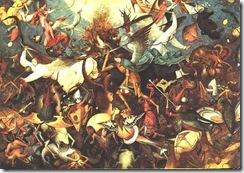 Bruegel, the fall of the rebel angels