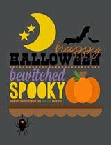 Insiteful Living Spooky Print