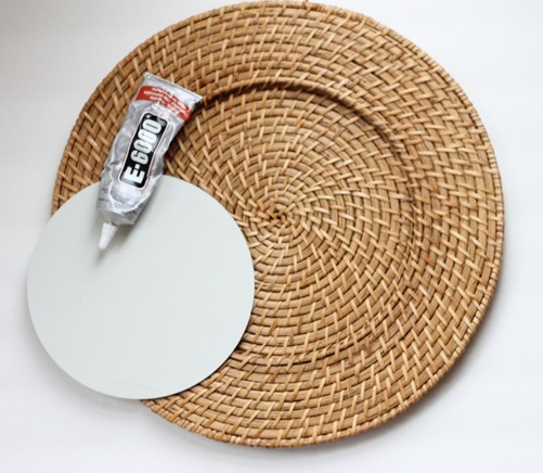 mirror plate charger