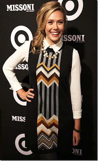 Elizabeth Olsen attends the Missoni for Target Private Launch Event on September 7, 2011 in New York City.