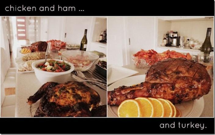 christmas 2012 food spread