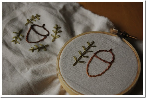 acorn stitch