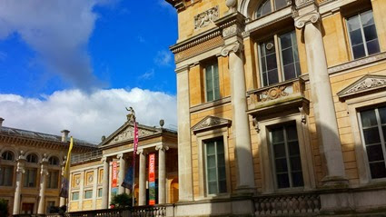 Scenes from the Ashmolean Museum