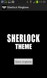 Sherlock Ringtone screenshot 0
