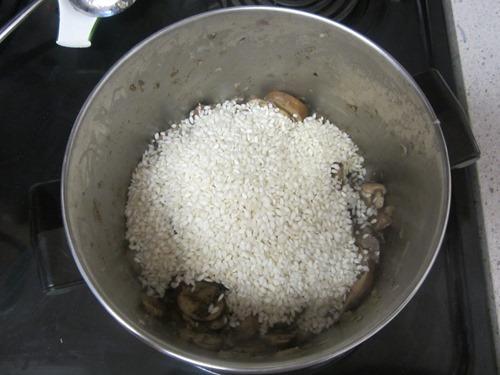 mushroom risotto 036