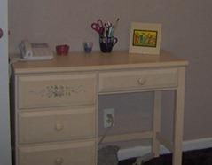 desk repurposed