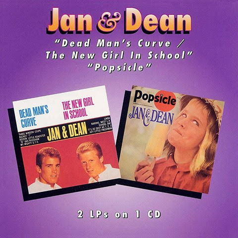 Jan And Dean - Deadman's Curve-New Girl In School Popcicle - Booklet 01