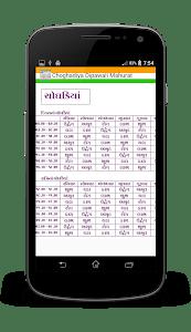 Indian Calendar 2017 screenshot 0