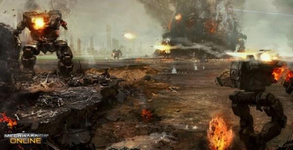 MechWarrior Online Coast Battle