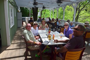 lovely lunch at Lefty's Grill in Nevada City