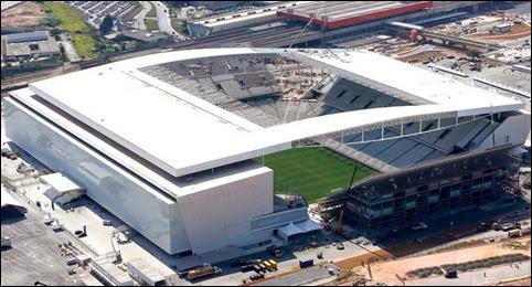 Estadio Arena do Corinthians, escenario de Ceremonia Apertura del ...
