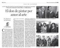 """Navidad 2008: Jose luis Otaegui, Carlos Diez. Sagrario Nebreda, Marisa Zurdo, Juan Manuel Egurrola, Maria Eugenia Luzarrága. M. Rodriguez, Antón Menchaka, Nieves, """"Joselu""""."""