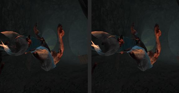 VR Creepy Cave for Cardboard screenshot 0