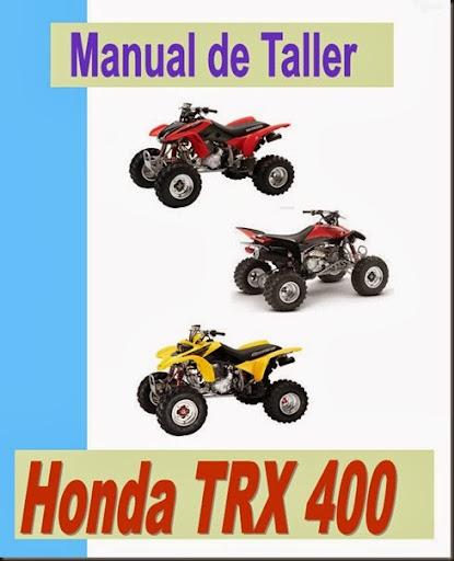 manual taller trx 400