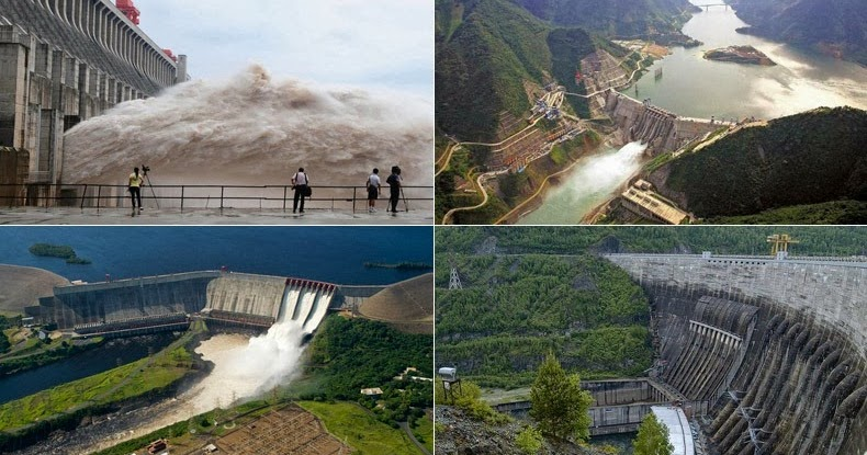 7 Ambitious Hydroelectric Power Projects | Amusing Planet