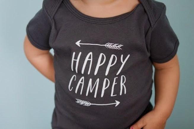 happy camper tshirt