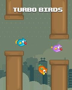 Turbo Birds: Fun Race screenshot 0