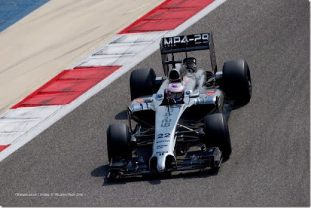 2014 F1 Pre Season Test 3 - Day 2Bahrain International Circuit, Sakhir, Bahrain.Friday 28 February 2014.World Copyright: Glenn Dunbar/LAT Photographic.ref: Digital Image _W2Q6440.JPG
