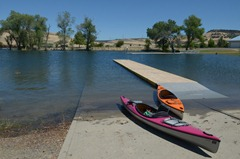launch site at the ForeBay Aquatic Center new Oroville