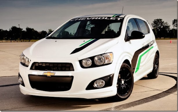 2013 Chevrolet Sonic with a Z-Spec package