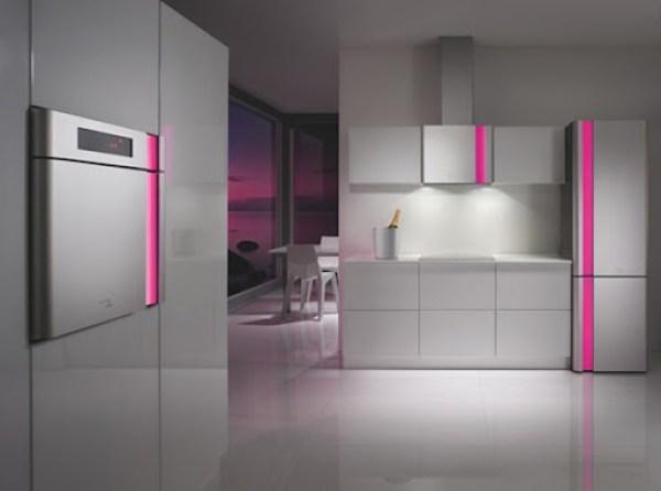 cocina-moderna-gris Cocinas de diseño