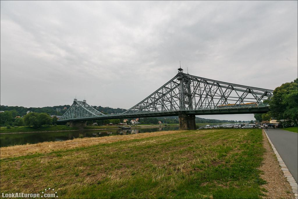 Дрезден. Мост Голубое чудо