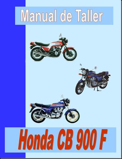 manual de taller cb 900