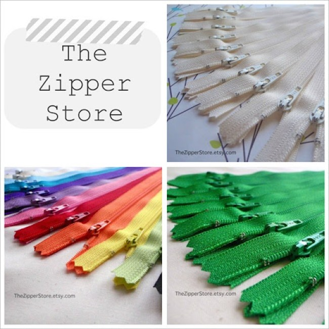 zipper store collage