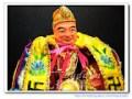 """【親切的濟公禪師-八吋八站姿】濟公師父濟公活佛降龍羅漢+濟公專用的精緻""""佛字""""神明衣~"""