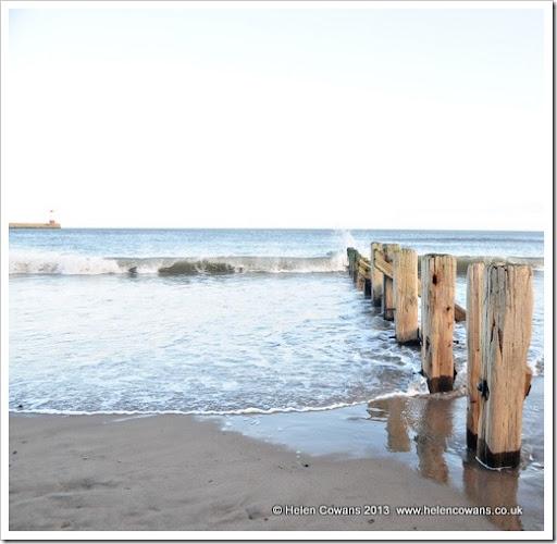 spittal beach and sea lighthouse 2