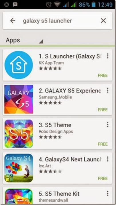 cara merubah tampilan smartphone android