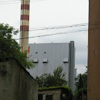 Power station is visible from almost every place in Chorzów Stary.
