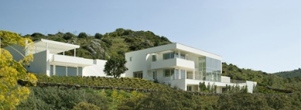 Fachadas-Casas-Bodrum-arquitecto-Richard-Meier