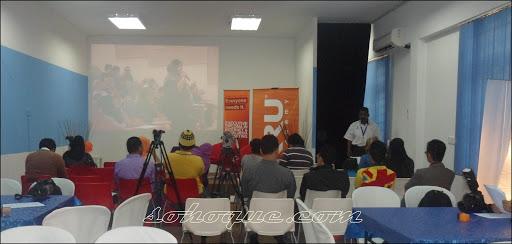 antara bloggers dan wakil media yang hadir di sidang akhbar kru masterclass
