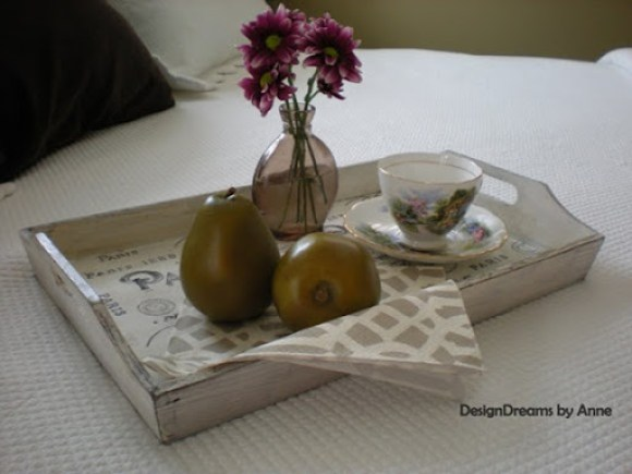 vintage (paris) tray