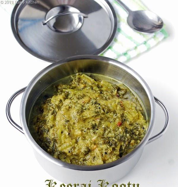 Keerai Kootu Recipe Raks Kitchen