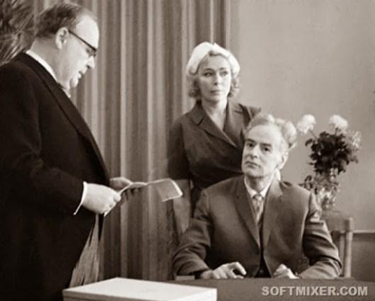 Вручение Нобелевской премии Льву Ландау, 1962 год