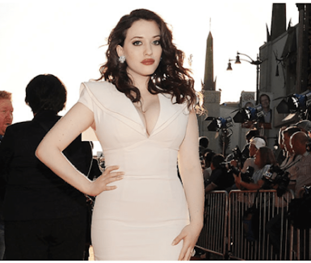 On Kat Dennings Being Fat Screen Shot  At  Am Png