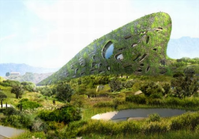 Futuristic Bio Building
