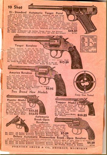 Johnson Smith - guns