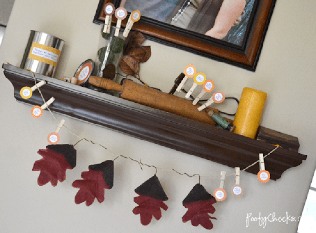 Fall Decor Home Tour on a Budget