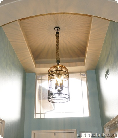 Restoration Hardware Birdcage Chandelier The Thrifty Way All Things